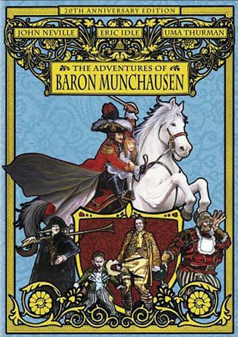 The Adventures of Baron Munchausen (20th Anniversary Edition) DVD Movie