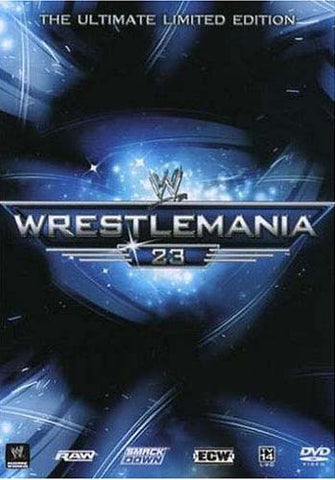 WWE WrestleMania 23 (The Ultimate Limited Edition) (Tin) (Boxset) DVD Movie
