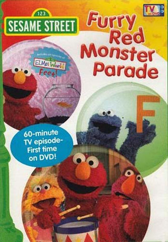 Furry Red Monster Parade - (Sesame Street) DVD Movie