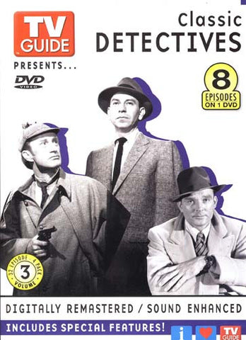 TV Guide Presents-Classic Detectives (8 Episodes) DVD Movie