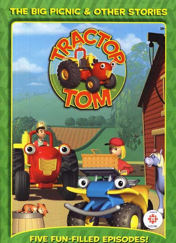 Tractor Tom - The Big Picnic And Other Stories DVD Movie