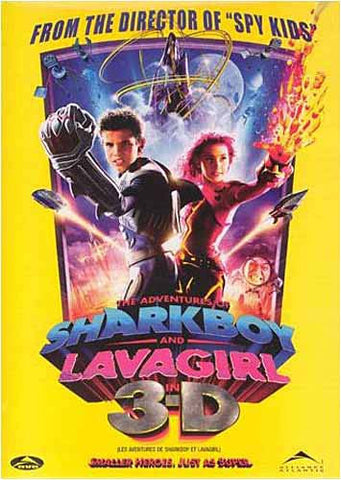 The Adventures of SharkBoy and LavaGirl 3-D (Bilingual) DVD Movie