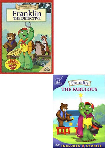 Franklin - The Detective/ Franklin The Fabulous (2 pack) DVD Movie