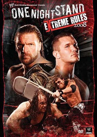 WWE One Night Stand Extreme Rules 2008 DVD Movie
