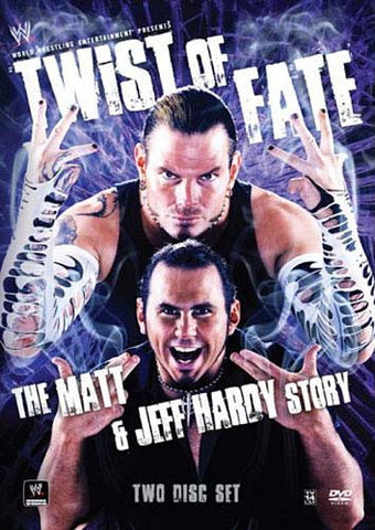 WWE - Twist of Fate - The Matt and Jeff Hardy Story DVD Movie