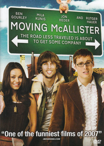 Moving McAllister DVD Movie