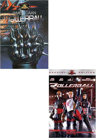 Rollerball (James Caan) / Rollerball (Double Take Original and Remake) DVD Movie