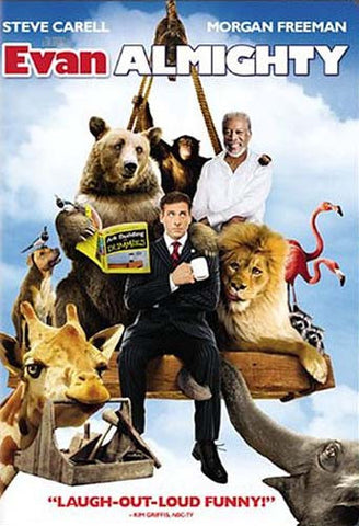 Evan Almighty (Widescreen Edition) (Slim Case) (Bilingual) DVD Movie