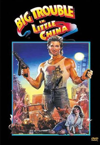 Big Trouble in Little China DVD Movie