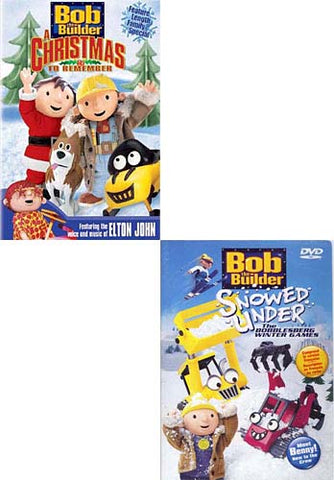 Bob The Builder - A Christmas to Remember / Snowed Under (2 pack) DVD Movie