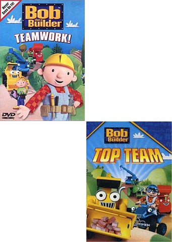 Bob The Builder - Teamwork / Top Team (Boxset) (2-pack) DVD Movie