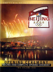 Beijing 2008 Complete Opening Ceremony - (Two Volume DVD)