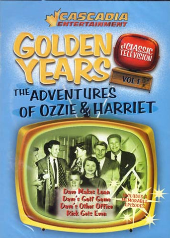 Golden Years of Classic Television - The Adventures of Ozzie and Harriet Vol.1 DVD Movie