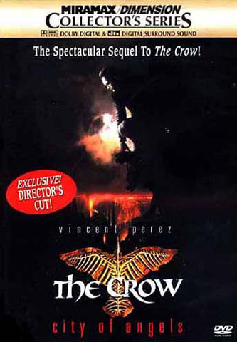The Crow - City of Angels (Director's Cut)(Collector's Series) (Vincent Perez) DVD Movie