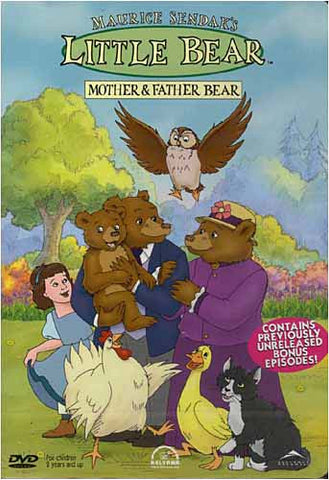 Little Bear - Mother And Father Bear DVD Movie