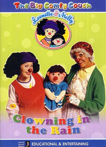 The Big Comfy Couch - Clowning in the Rain DVD Movie