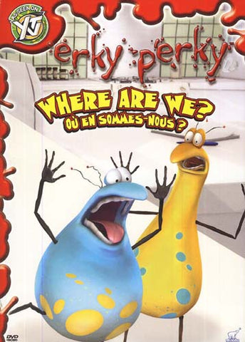 Erky Perky - Where Are We (Bilingual) DVD Movie