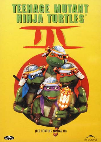 Teenage Mutant Ninja Turtles III (Bilingual) DVD Movie