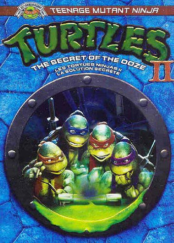 Teenage Mutant Ninja Turtles II - The Secret Of The Ooze (Widescreen/Fullscreen) (Bilingual) DVD Movie