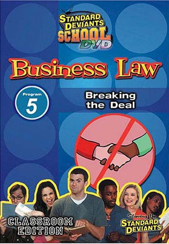 Standard Deviants School - Business Law, Program 5 - Breaking the Deal (Classroom Edition) DVD Movie
