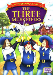 The Three Musketeers-A Story Book Classic (Animated) English and Spanish