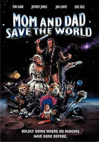 Mom and Dad Save the World DVD Movie