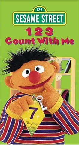 123 Count With Me - (Sesame Street) DVD Movie