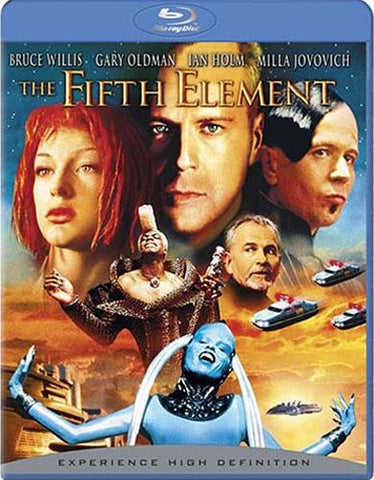 The Fifth Element (Blu-ray) BLU-RAY Movie