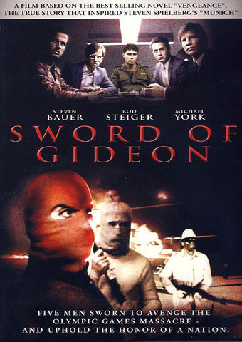 Sword of Gideon (Michael York) DVD Movie