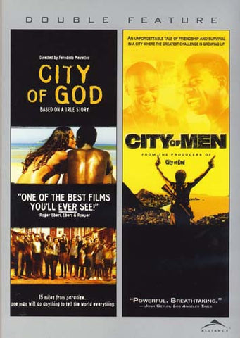 City of God/City of Men (Double Feature) DVD Movie