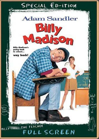 Billy Madison (Full Screen Special Edition) DVD Movie