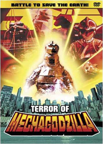 Terror Of Mechagodzilla DVD Movie
