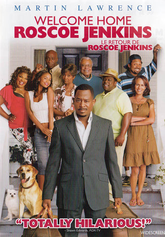Welcome Home Roscoe Jenkins (Bilingual) DVD Movie