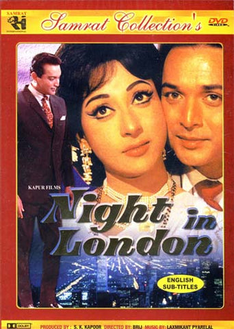 Night In London (Original Hindi Songs with English Subtitles) DVD Movie
