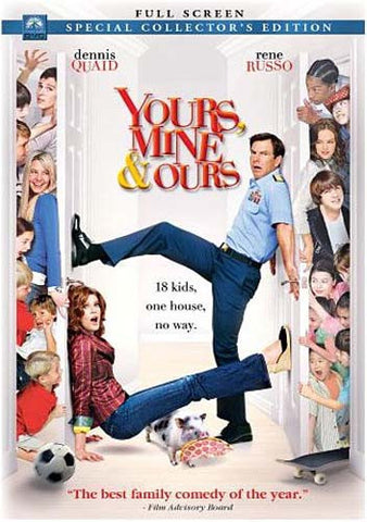 Yours, Mine And Ours (Full Screen Edition) (Dennis Quaid) (Bilingual) DVD Movie