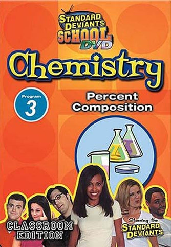 Standard Deviants School - Chemistry, Program 3 - Percent Composition (Classroom Edition) DVD Movie