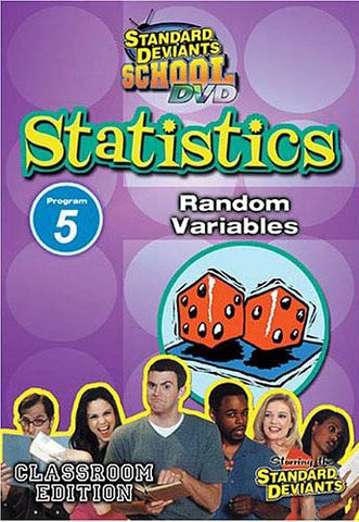 Standard Deviants School - Statistics Module 5 - Random Variables DVD Movie