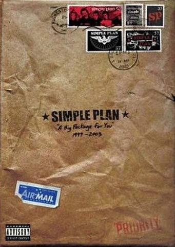 Simple Plan - Big Package for You (Snapcase) DVD Movie