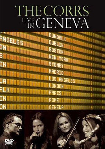 The Corrs - Live In Geneva DVD Movie