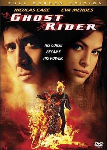 Ghost Rider (Full Screen Edition) DVD Movie