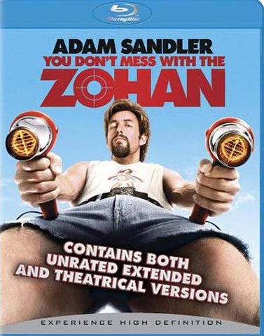 You Don't Mess With the Zohan (Unrated) (Blu-ray) BLU-RAY Movie