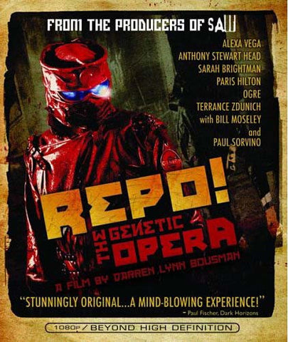 Repo! The Genetic Opera (Blu-ray) BLU-RAY Movie