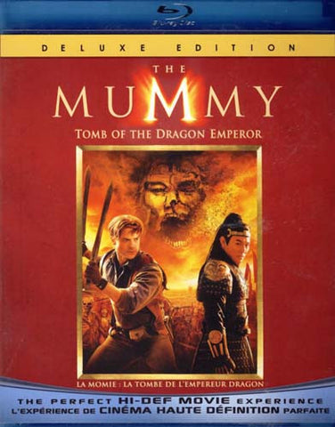 The Mummy - Tomb of the Dragon Emperor (Deluxe Edition) (Bilingual) (Blu-ray) BLU-RAY Movie