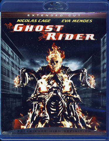 Ghost Rider (Extended Cut) (Blu-ray) BLU-RAY Movie