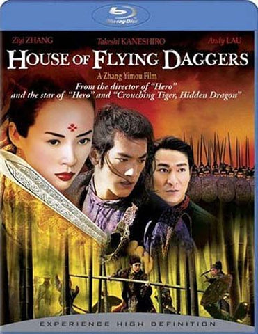 House of Flying Daggers (Blu-ray) BLU-RAY Movie