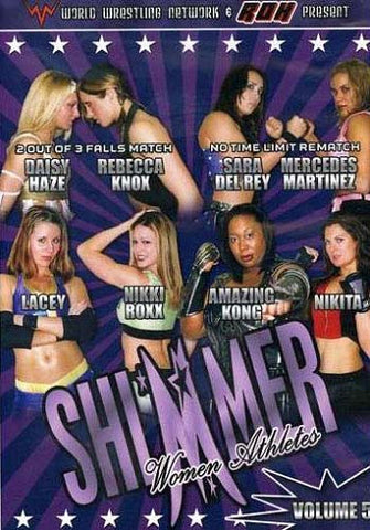 Shimmer Women Athletes - Volume 5 - World Wrestling Network DVD Movie