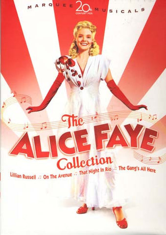 The Alice Faye Collection (Boxset) DVD Movie