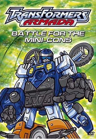 TransFormers Armada - Battle For The Mini-Cons DVD Movie