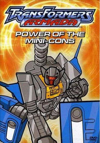 Transformers Armada - Power of the Mini-Cons DVD Movie