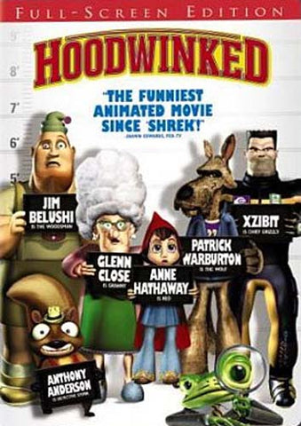 Hoodwinked (Full Screen Edition) DVD Movie